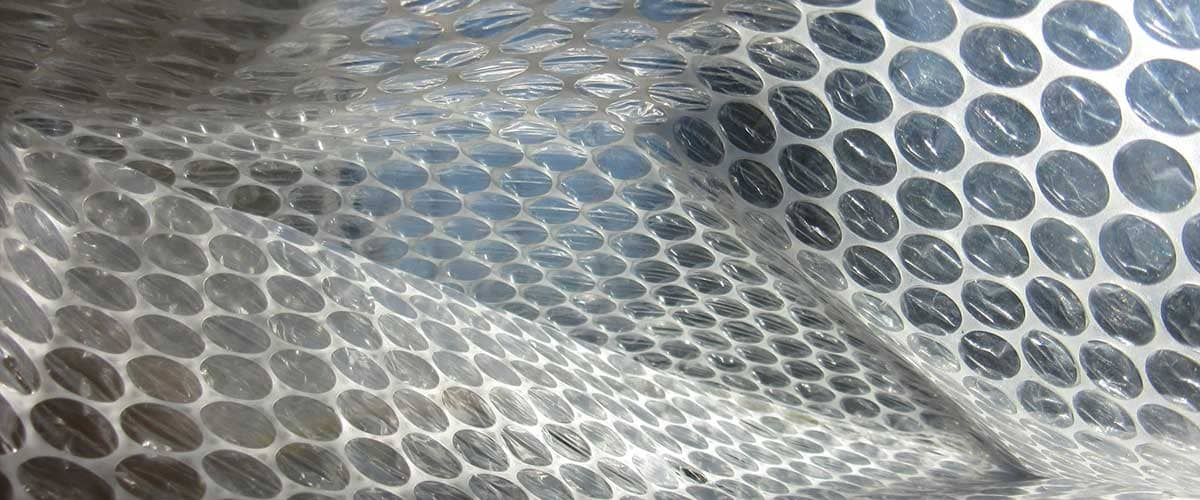 Static-Free Bubble Wrap