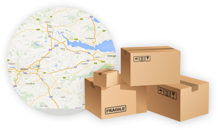 Map and Storage Boxes