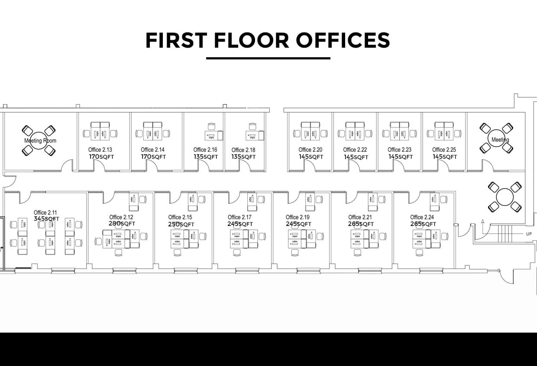 Storage Vault Office Floorplan