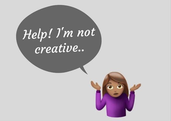 help im not creative