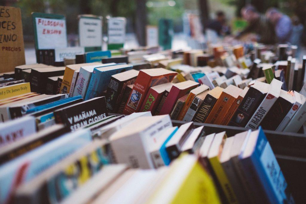books market car boot sale