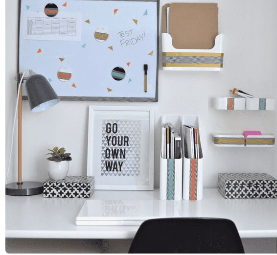organised desk