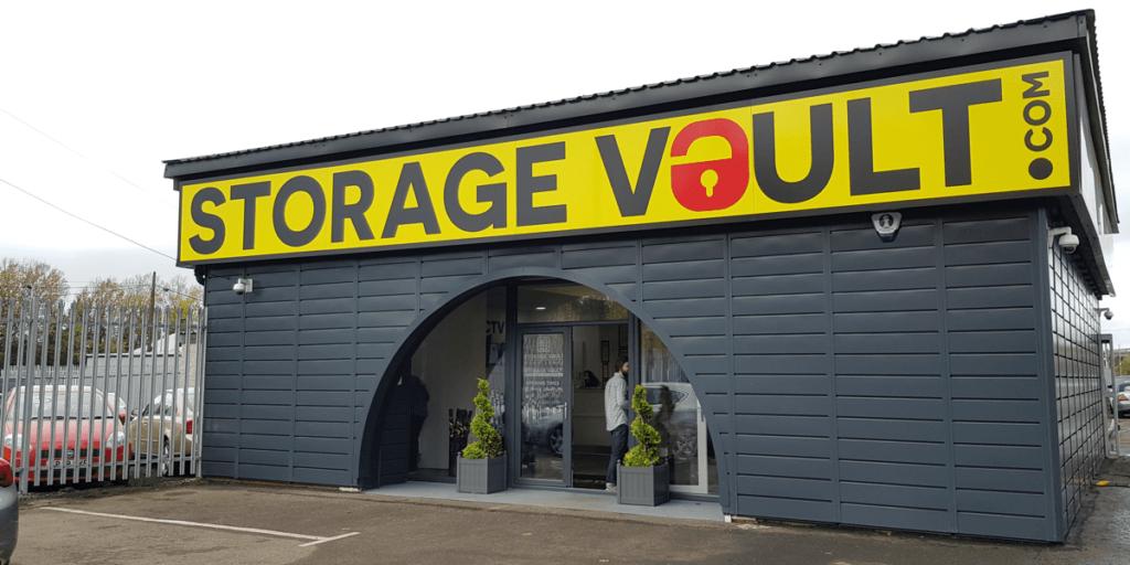 Storage Vault Cambuslang premises
