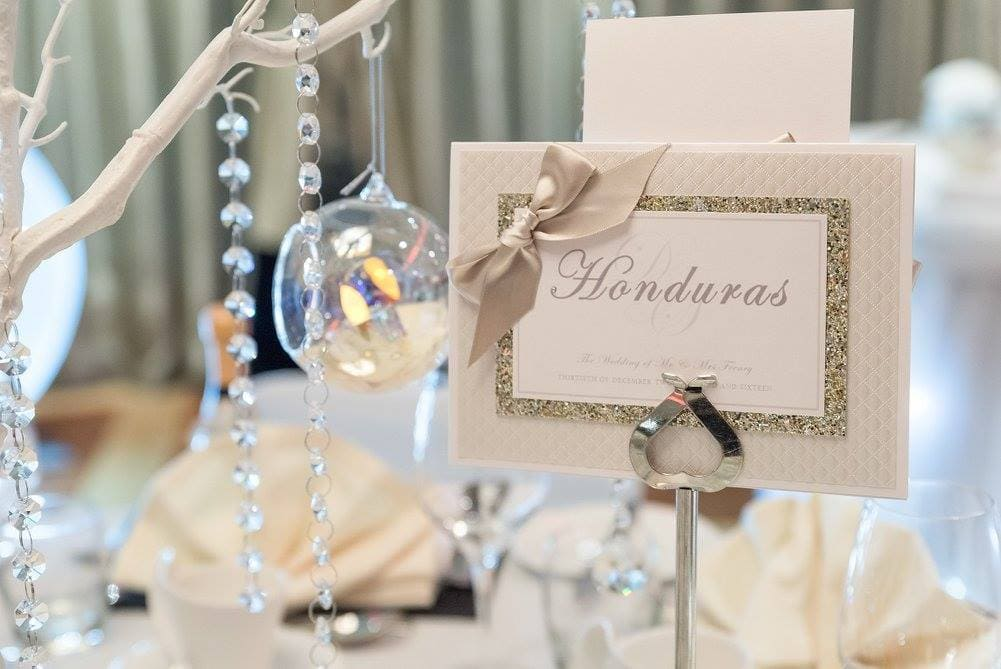Wedding Business Dollybird Stationery Are Living The Dream At Storage Vault Work Space - table setting with names