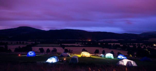 crieff camping environment
