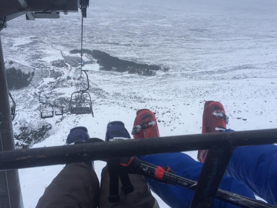 glen coe skiing camping