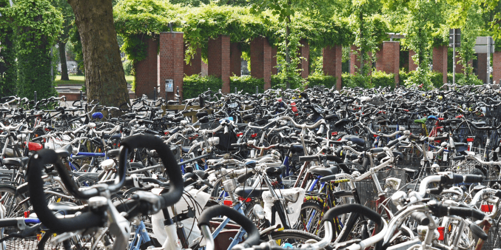 bike storage city