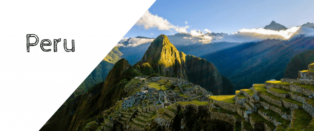Gap year destinations, Peru