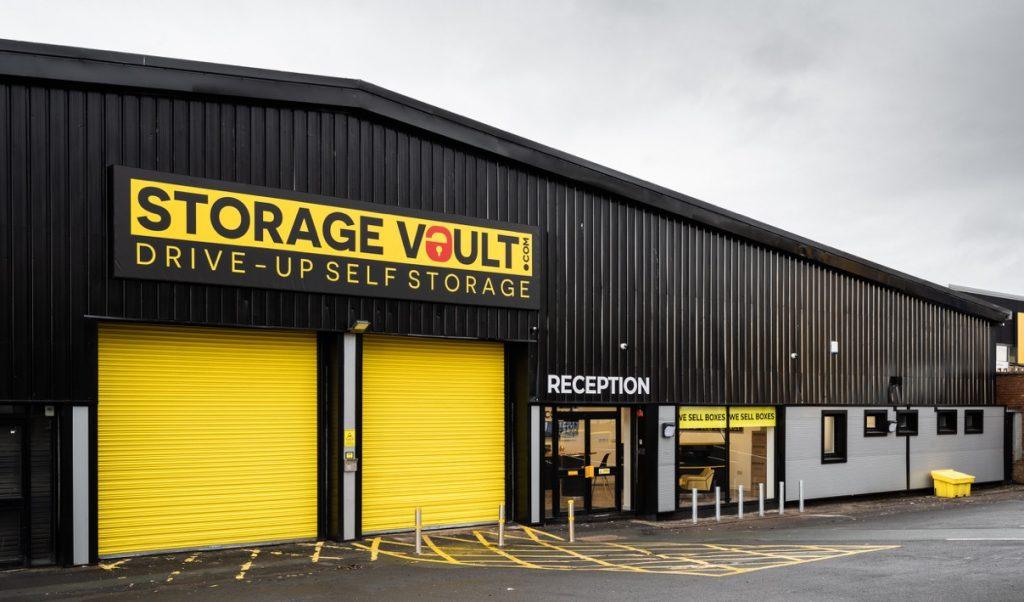 Storage Vault Coatbridge Front