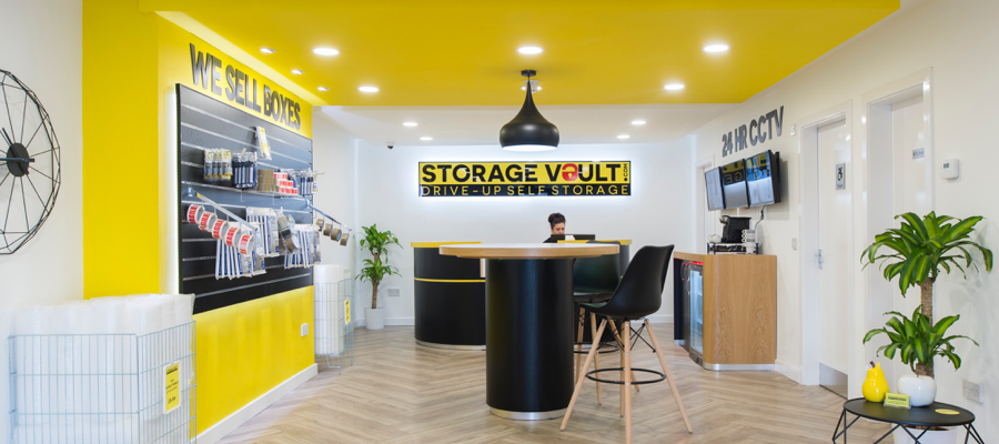 Storage Vault Scotland Street reception
