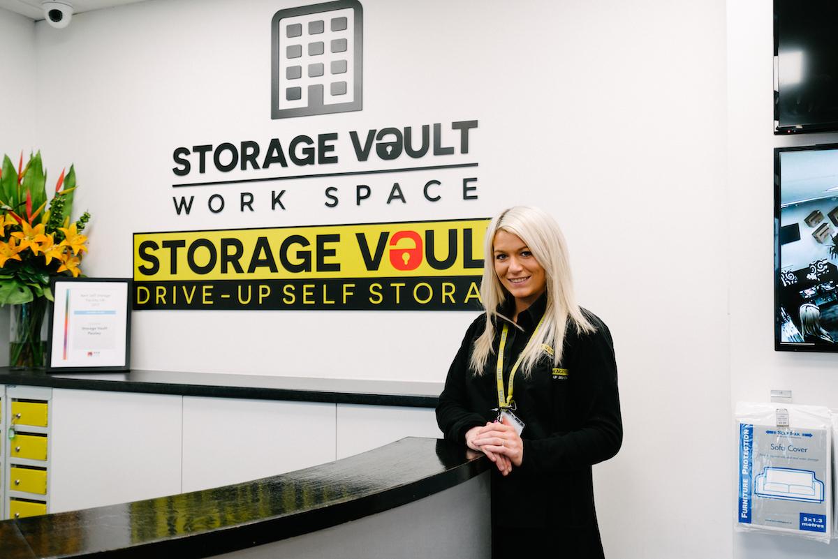 glasgow storage vault manager