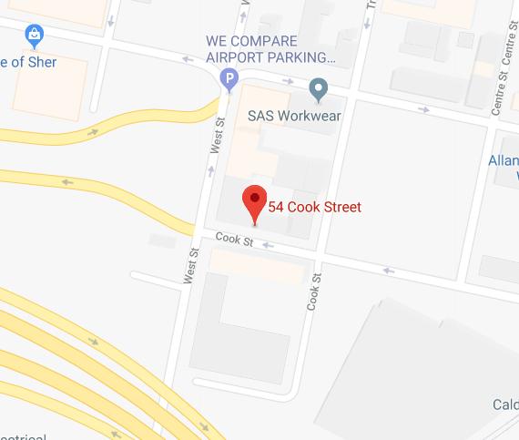 Self Storage Workspace Glasgow Map