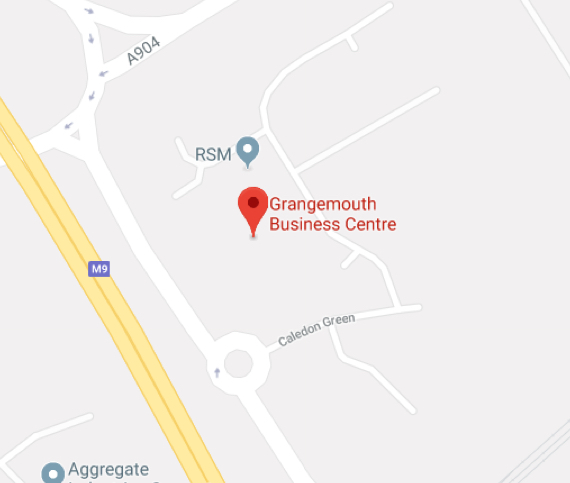 Self Storage Workspace Grangemouth East Map