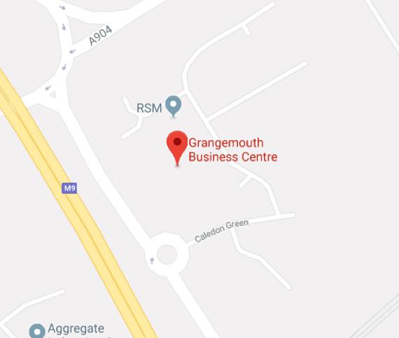 Self Storage Workspace Grangemouth East Map