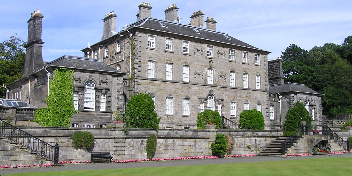Pollok House in Pollok Country Park