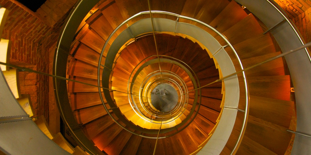 Spiral Staircase in the Lighthouse