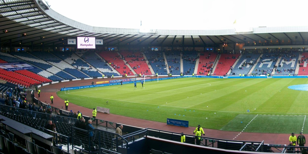 The Scottish Football Museum in Hampden Park