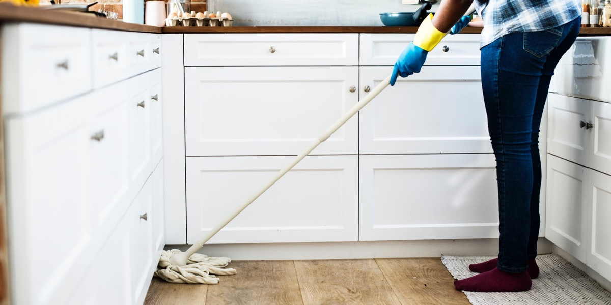 Clean your new house before moving
