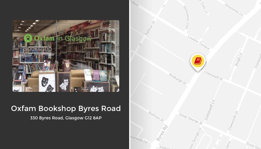 Oxfam Bookshop Byres Road