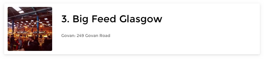 The Big Feed Glasgow