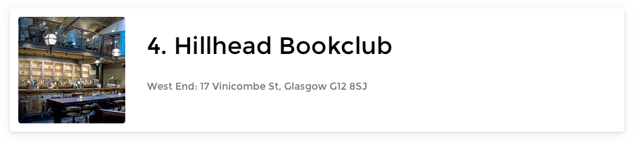 Hillhead Bookclub