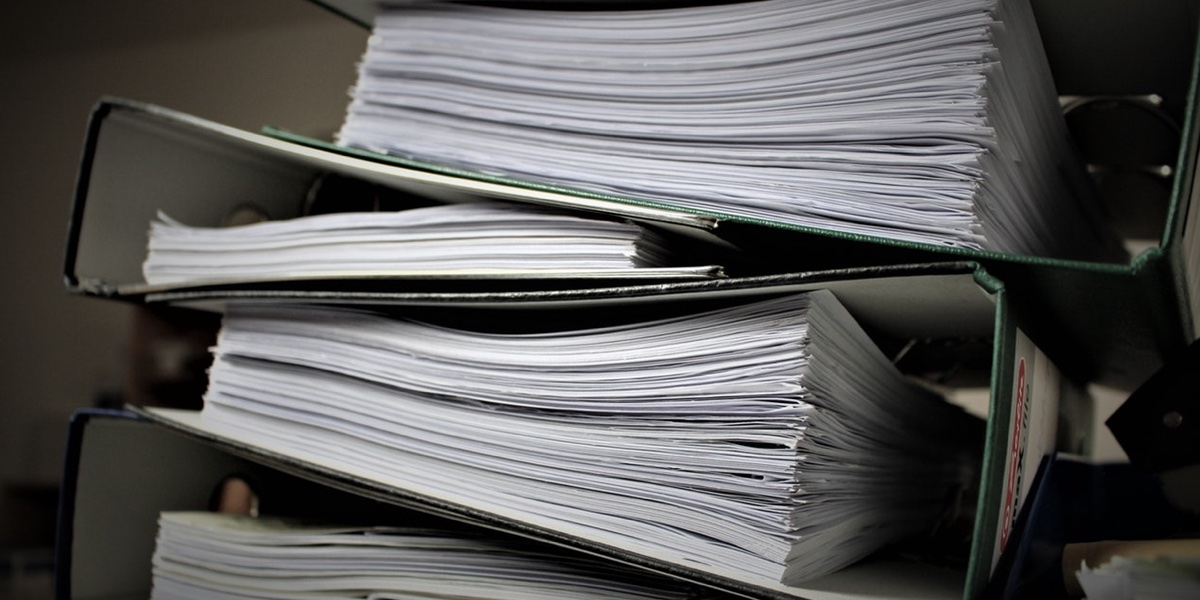 Storing Documents in Paper Form