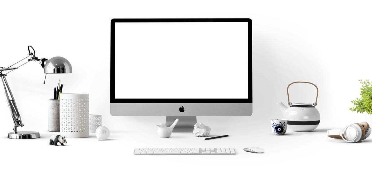Paperless Desk.