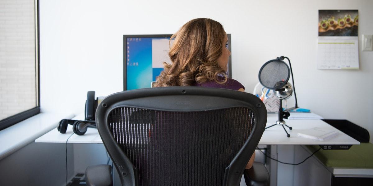 office chair storage